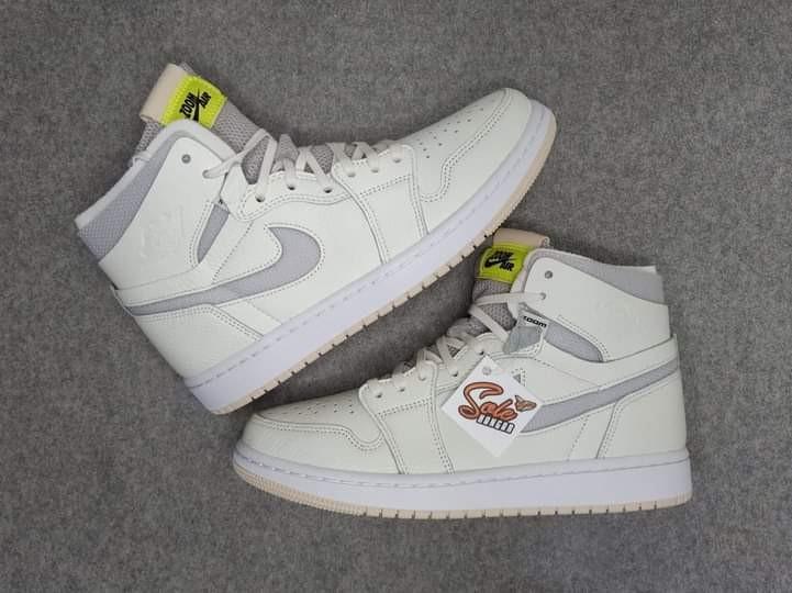Wmns Air Jordan 1 High Zoom 'Pearl White'