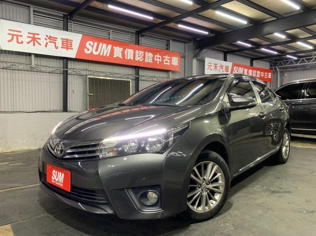 正2016年出廠 Toyota Corolla Altis SAFETY版