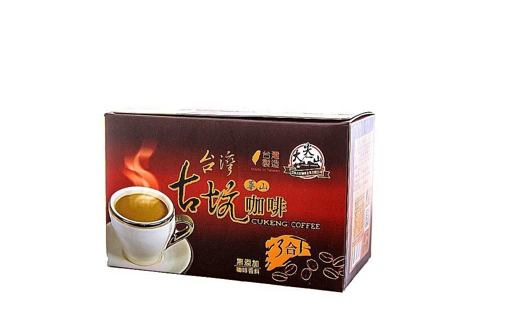 【台灣華山 3合1咖啡 古坑咖啡】原價💲175 咖啡 3合1 TGC 雲林古坑咖啡 古坑咖啡 台灣咖啡 即溶咖啡 即溶咖啡粉 咖啡粉