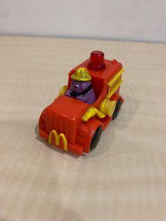 二手 麥當勞 玩具 公仔 滑嘟嘟 奶昔大哥 消防車