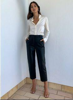 Aritzia Vegan Leather Pant size 8