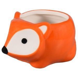 Cute fox planter new in box