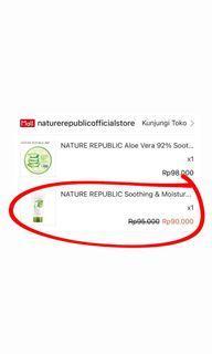 Nature Republic Face Wash Aloe Vera