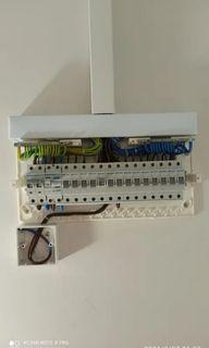 Electrical wiring & installation work.