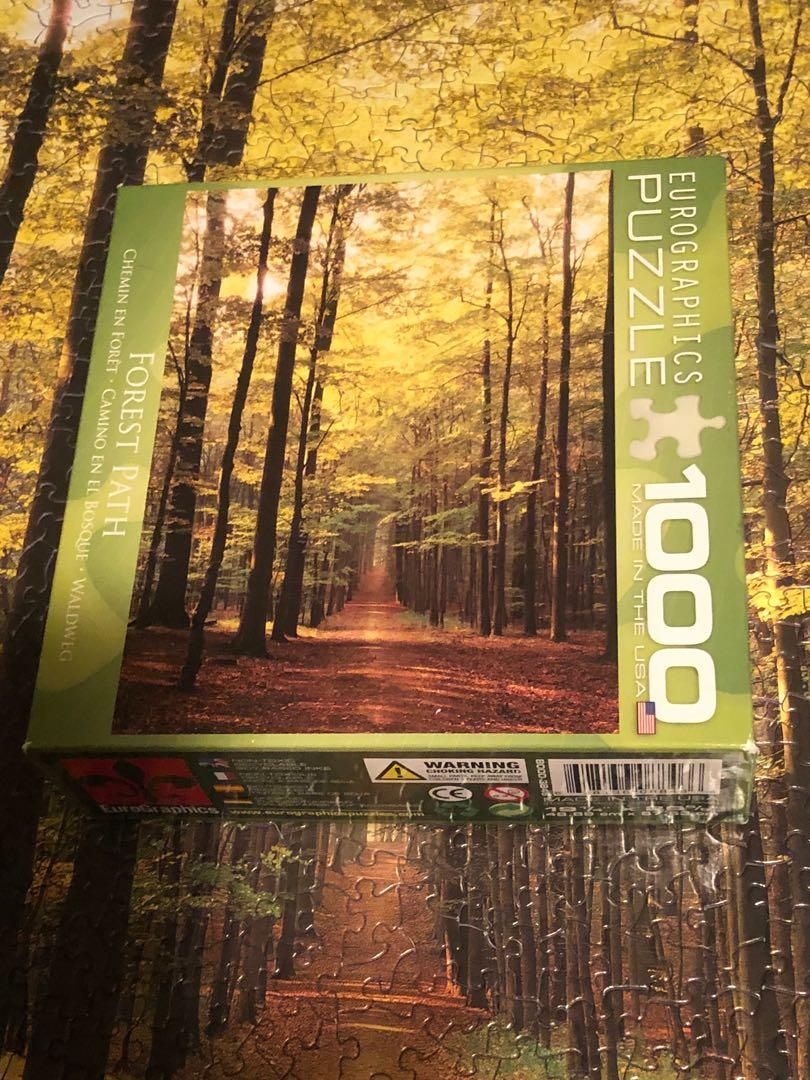 Eurographics Forest Path jigsaw puzzle