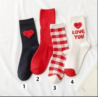 全新現貨韓國❤️中筒襪日係方格甜美 全館🈵️399免運費