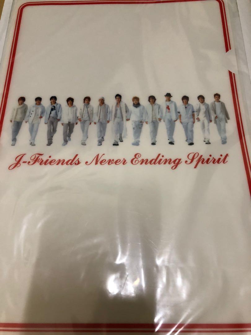 J-Friends 限量週邊 資料夾+束口袋(KinKi Kids V6 TOKIO)