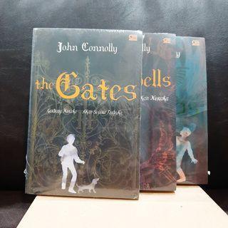 John Connolly - Trilogi The Gates - novel fantasi thriller misteri (ori, baru, segel plastik) #bersihmaret