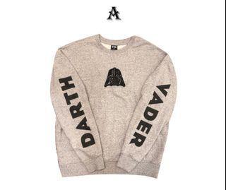 【NET x StarWars】星際大戰聯名大學t/sweater/長袖/衛衣/黑武士  darth vader
