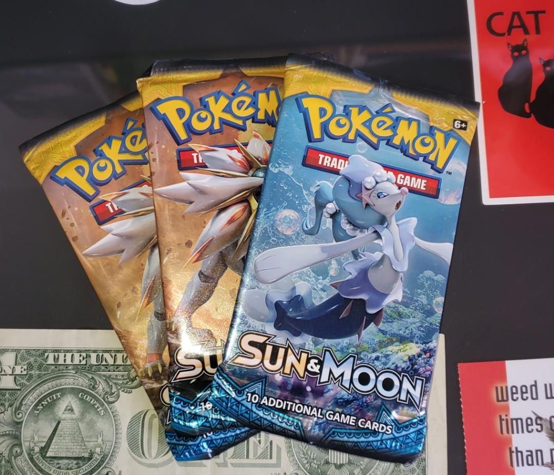 Sun & Moon Booster Packs