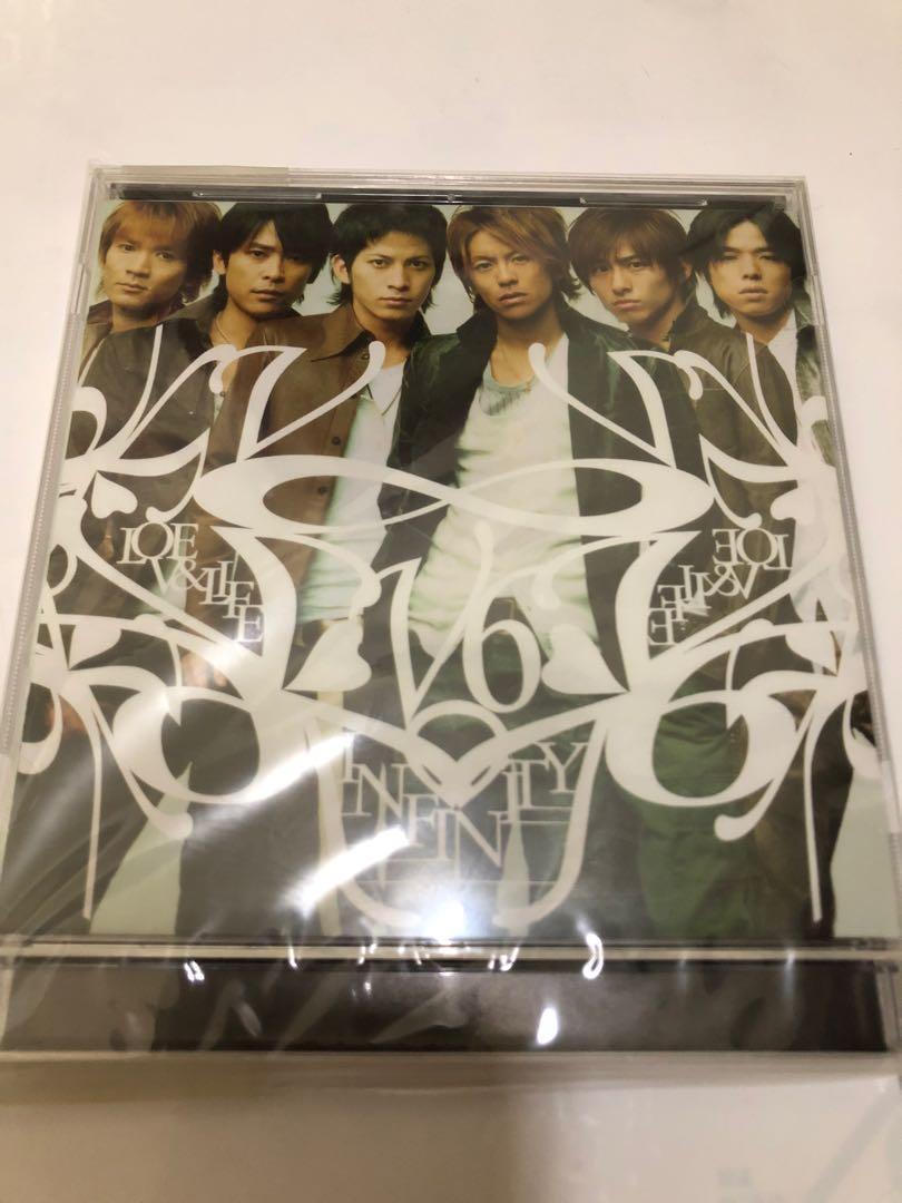 V6 專輯 ∞INFINITY LOVE&LIFE日版CD