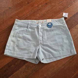 Wild Blue Denim Shorts Womens