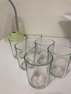 玻璃杯 6 個