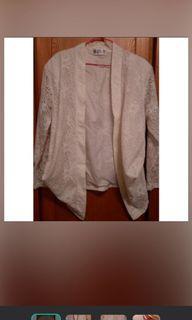 古著/百搭氣質外套/白色外套 #618