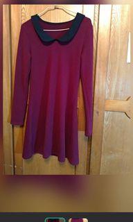 酒紅色/紫紅色 裙裝 #換季