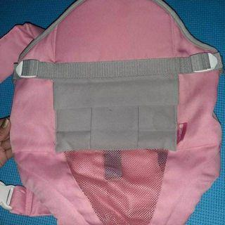 Bebeta pink carrier with front pocket