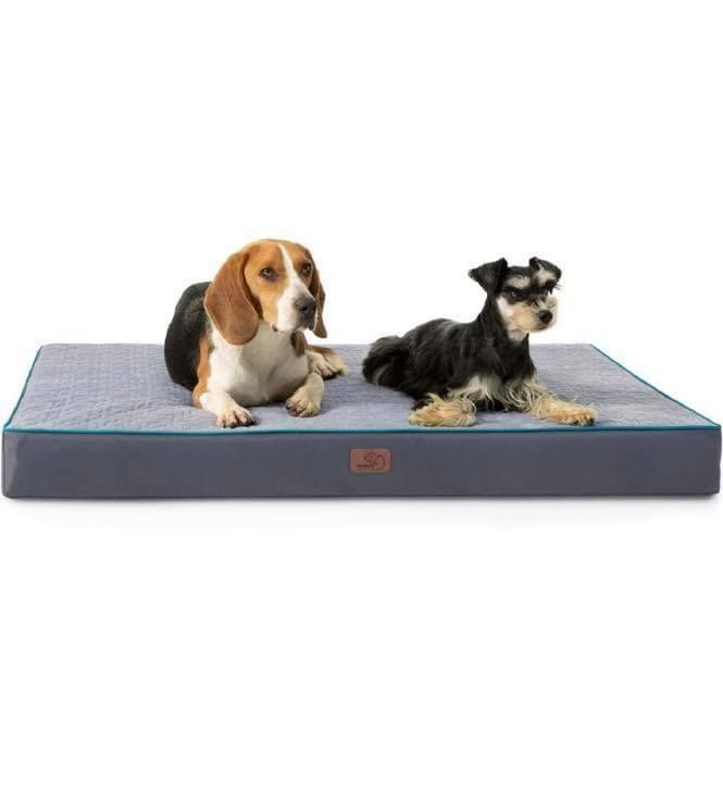 Large Dog Bed Mat Memory Foam Breathable Dog Beds Oxford Bottom Orthopedic Pet bed For Small Medium Large Pet Supplies