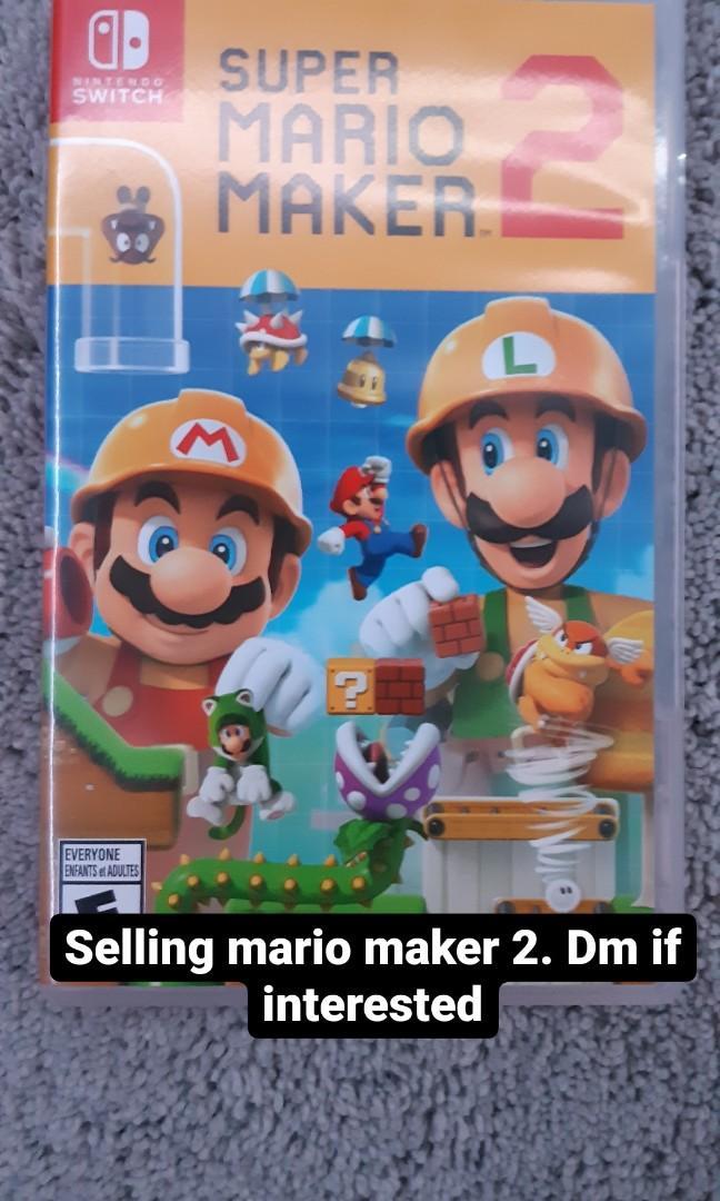 (Brand New) Super Mario Maker 2