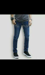 Celana Jeans laki laki slimfit (pensil) size 29 baru sekali pakai