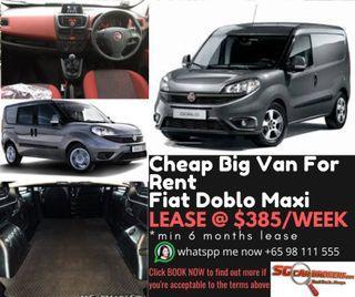 CHEAP AUTO VAN FOR RENT. Toyota hiace proace nv250 nv300 fiat doblo kangoo $50/DAY, MIN 3 MONTHS RENTAL. $500 DEPOSIT DRIVE OFF