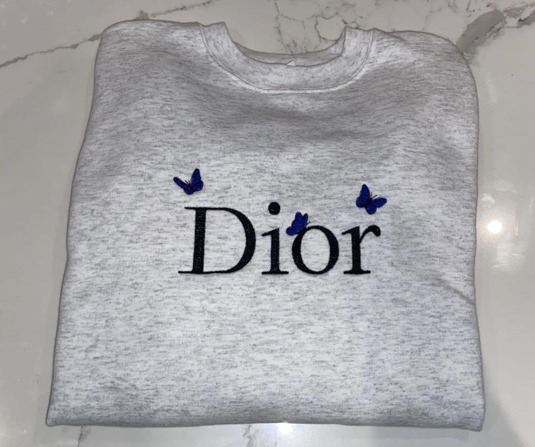 Dior Butterfly Crewneck