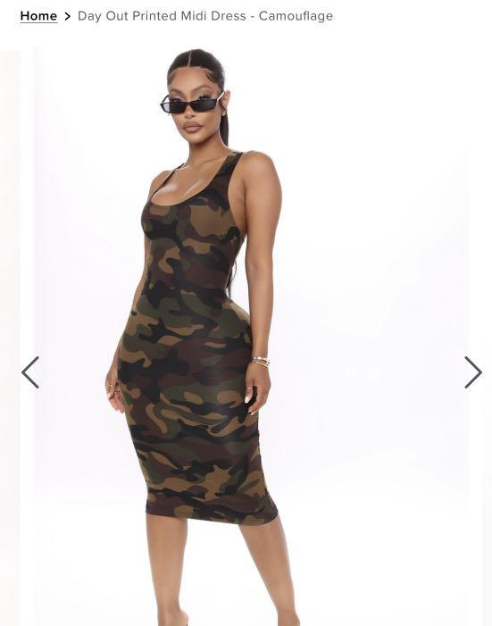 Fashionnova army dress
