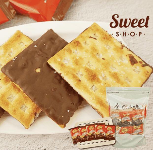 HATARI香濃厚醬起士/巧克力脆餅量販包