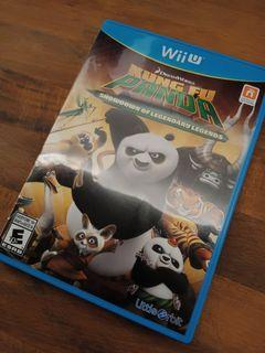 Nintendo Wii U Kung Fu Panda Showdown of Legendary Legends Video Game (READ DESCRIPTION PLEASE)