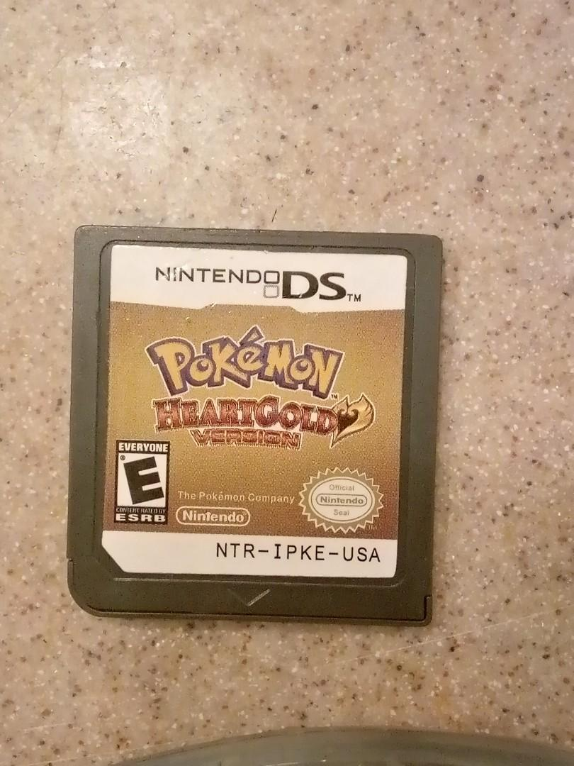 Pokemon heartgold and downloaded Alpha Sapphire with Nintendo DS 2 and charger included.
