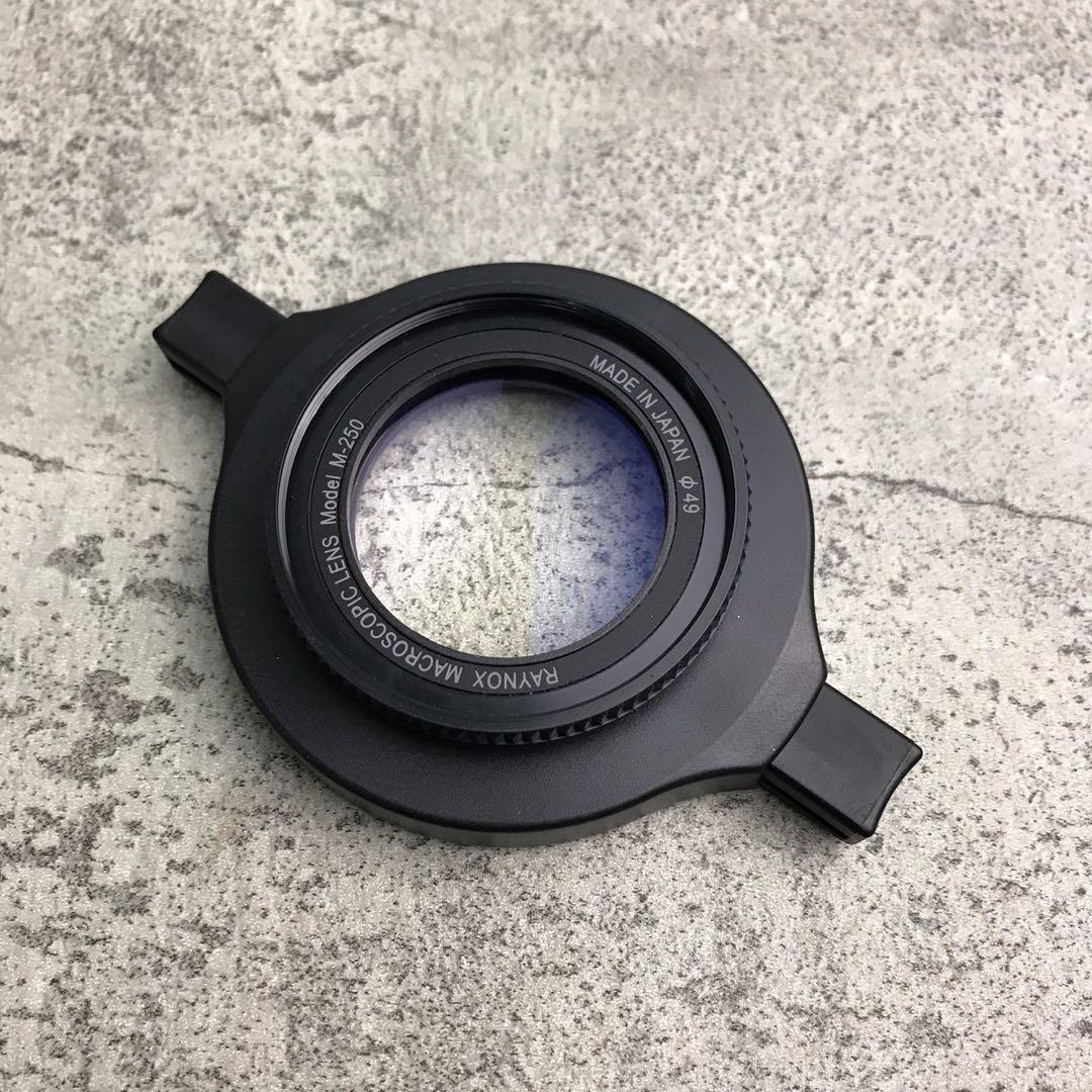 Raynox DCR-250 Super Macro Conversion Lens Mulus Komplit
