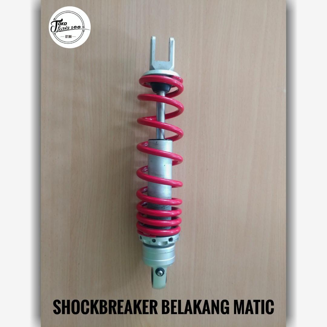 ShockBreaker Belakang Motor Matic Beat FiNew Original Skok Warna Merah