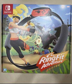 全新switch 健身環大冒險整組  環+遊戲片