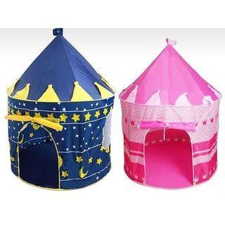 Tenda Castle anak Pink