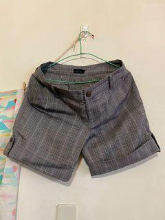 英倫風短褲