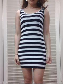 韓版彈性洋裝