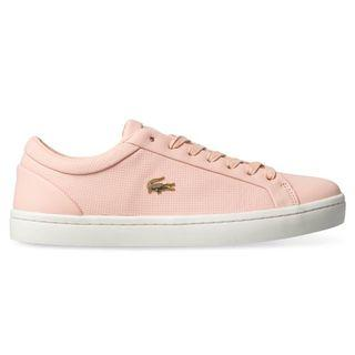 Authentic Nwot lacoste straight set 119 pink sneaker size 6