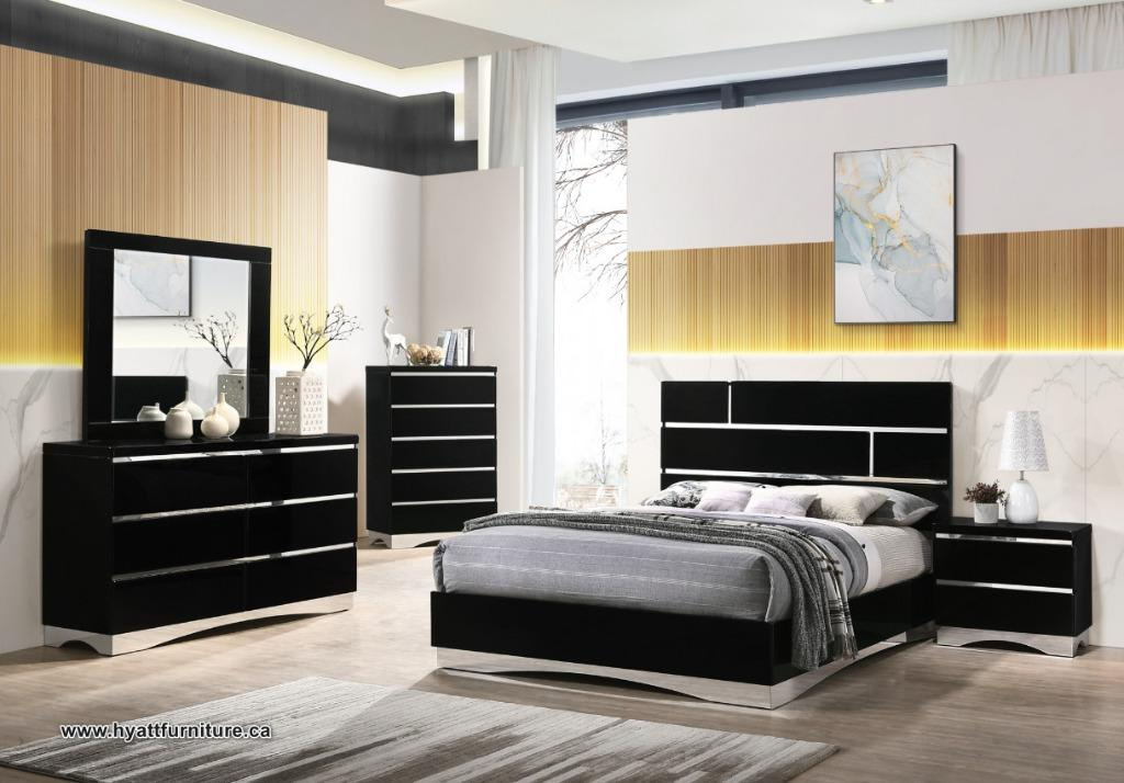 Brand new 7Pcs Italian Style Bedroom set only $1698