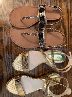 Coach and MIchael Kors Sandals