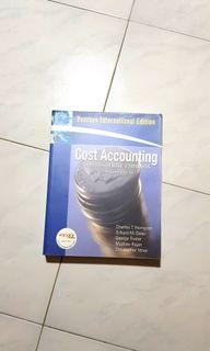 Cost Accounting: A Managerial Emphasis  13th Edition