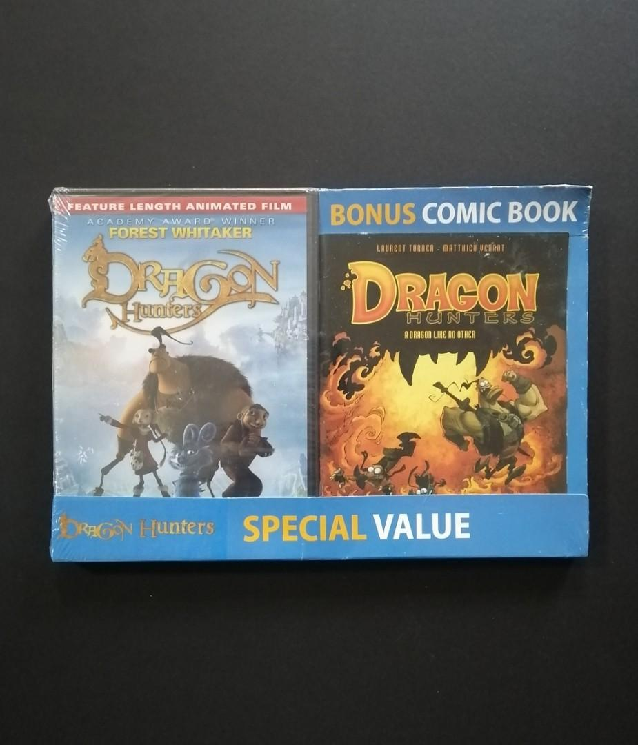 Dragon Hunters DVD + Comic Book