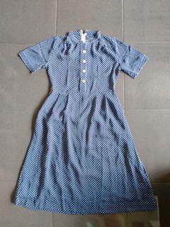 Dress Wanita Polka Dot
