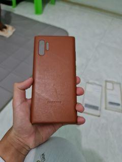 Galaxy Note10+/10+ 5G Leather Back Cover