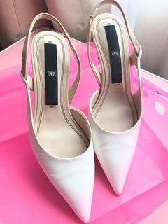 Heels Zara Putih (ORI)