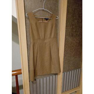 日系品牌Noue Rue質感俐落羊毛背心裙