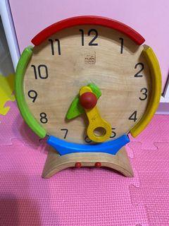 Plans toys clock 時鐘 玩具