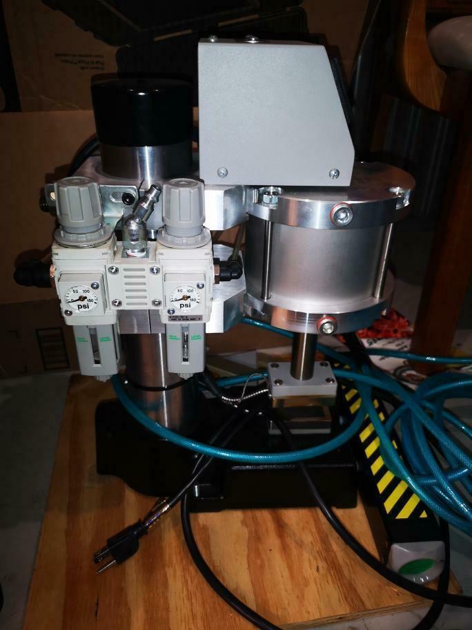 Press and air conpressor