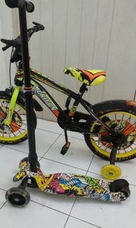 Sepeda BMX Morison 18 Like New