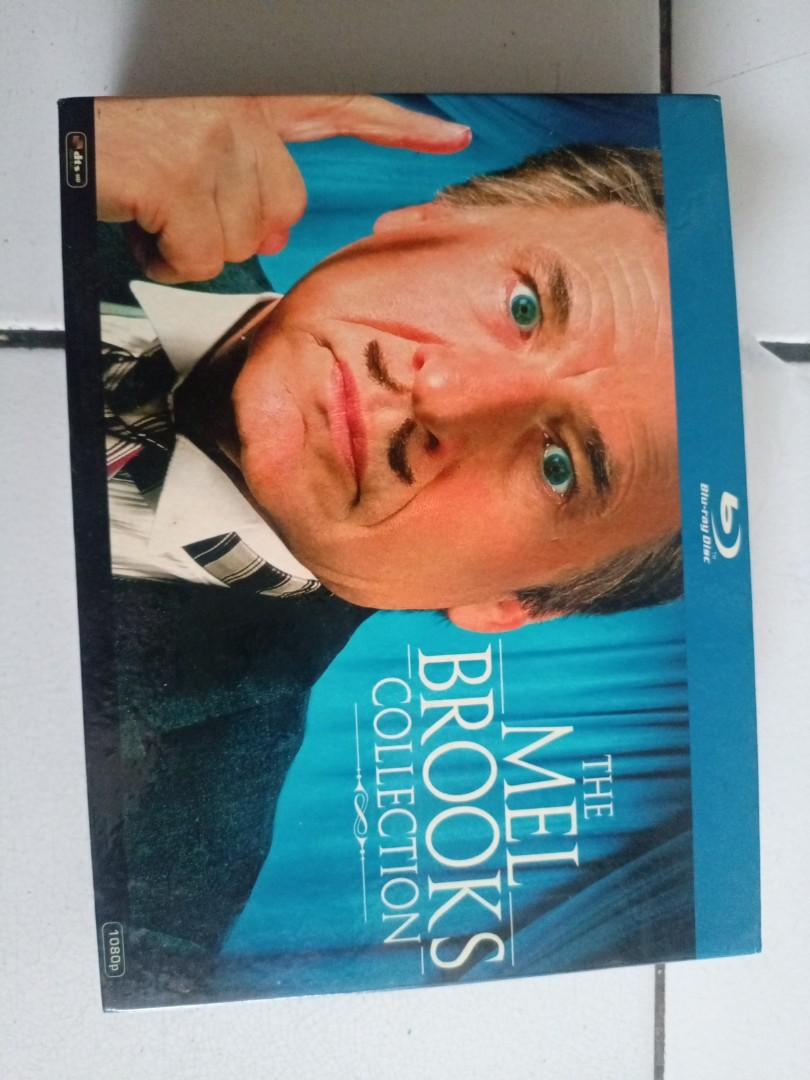 The Mel Brooks collection Blueray dvd