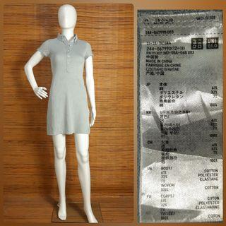 UNIQLO PIQUE T SHIRT DRESS