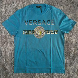 Versace Medusa Head Blue Tee